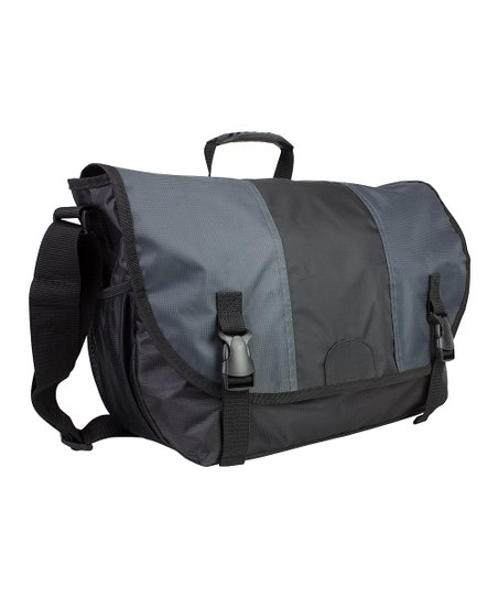 Graphite Messenger Laptop Bag