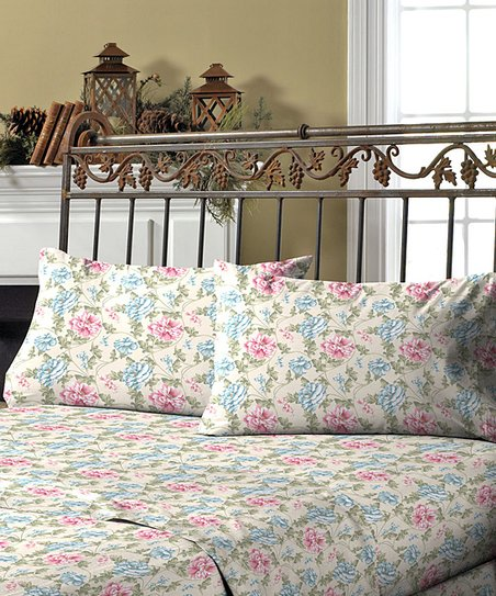 Carrie Fleece Sheet Set