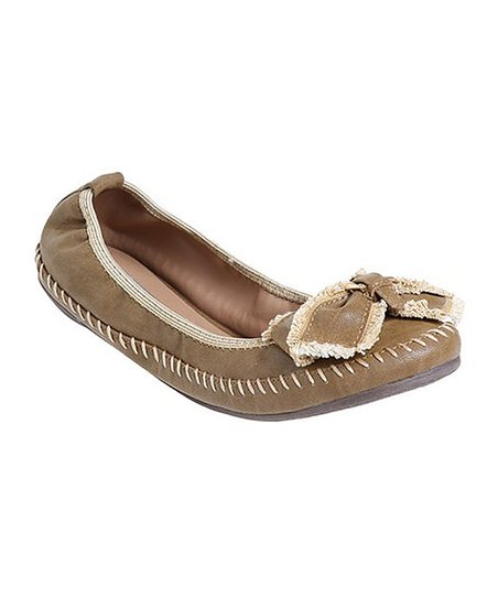 Brown Abby Ballet Flat