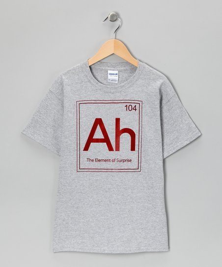 Heather Gray 'The Element of Surprise' Tee - Kids & Adult