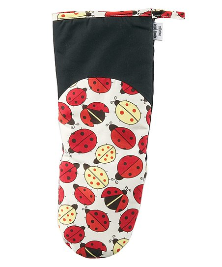 Lucky Bug Oven Mitt - Adult