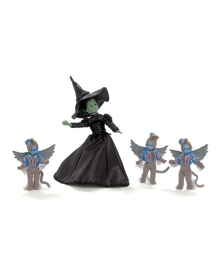 Wicked Witch of The West Doll & Winged Monkey Set