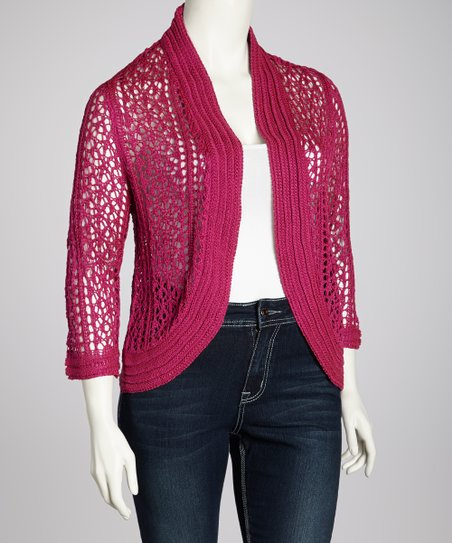 Berry Cardigan - Plus