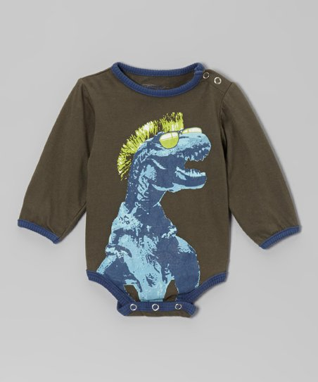 Moss T-Rex Bodysuit - Infant