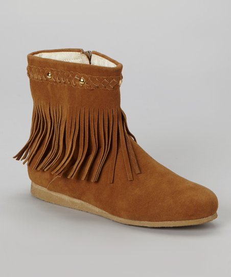 Tan Sora 9 Fringe Boot