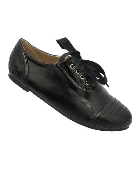 Black Ribbon Katty Shoe