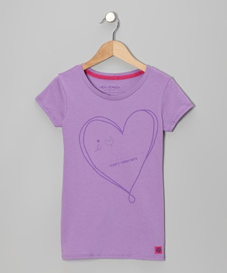 Violet Love 'Insert Name Here' Tee - Toddler & Girls