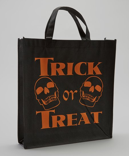 Black Skull Halloween 'Trick or Treat' Bags