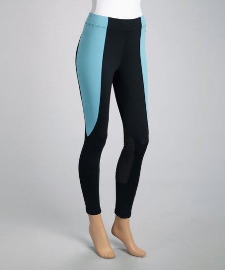 Turquoise Detail Breeches - Women