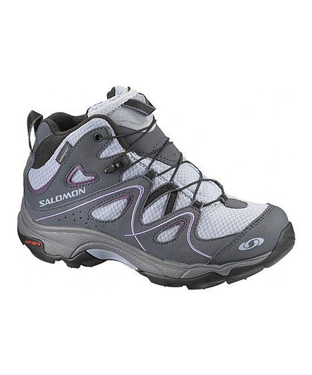 Ciment Blue & Gray Trax Mid WP All-Terrain Shoe - Kids