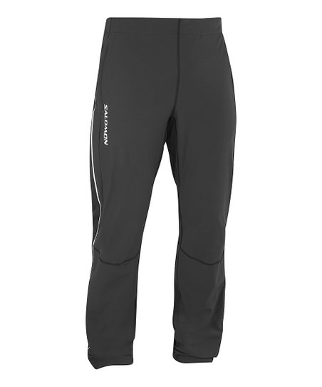 Black Momentum II Soft Shell Full-Zip Pants - Men