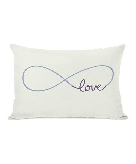Infinite 'Love' Throw Pillow