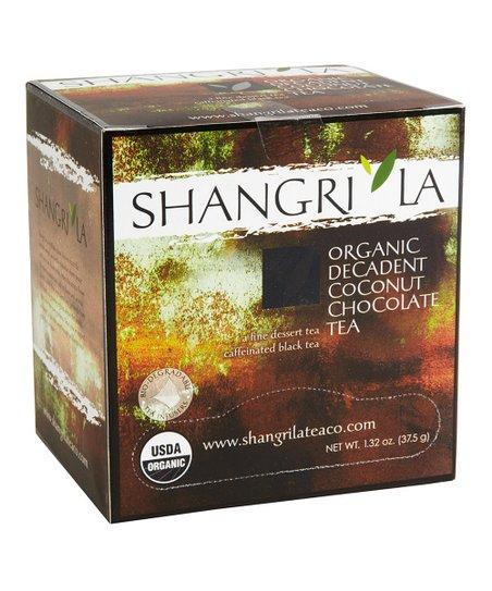 Organic Coconut Chocolate Sachet Tea - Set of Three