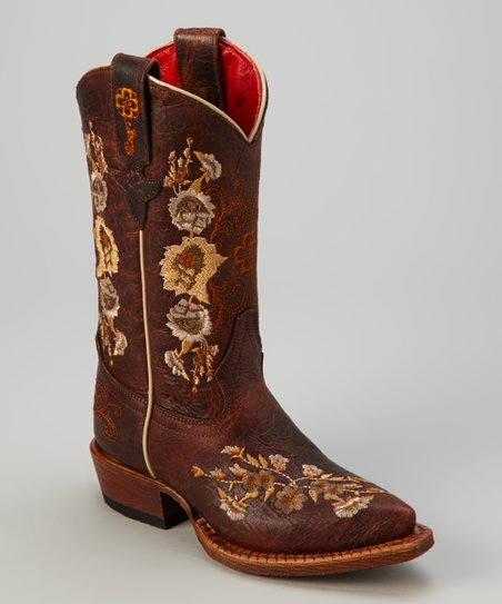 Brown Sweet Sixteen Cowboy Boot