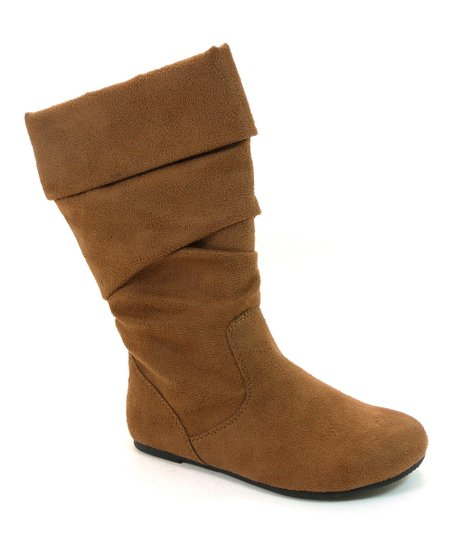 Brown Faux Suede Images Boot