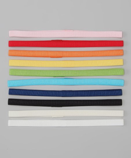 Multicolor Headband Set