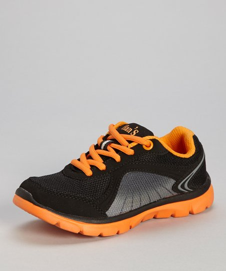 Orange & Black Sneaker