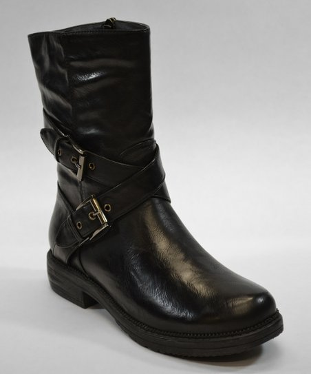 Black Tampa Boot
