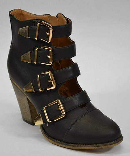 Black Dover Ankle Boot