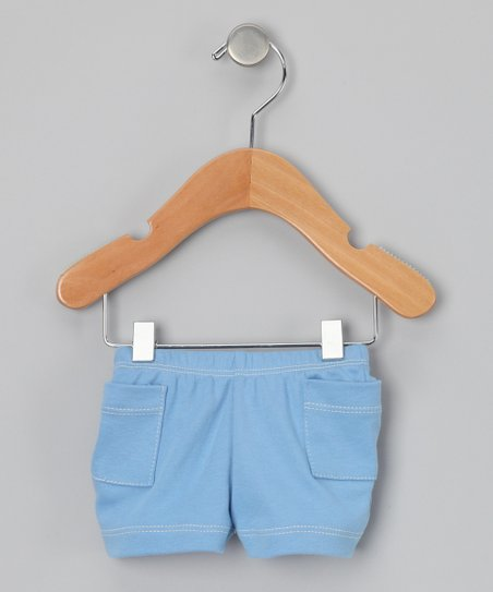 Cornflower Pocket Organic Shorts - Infant, Toddler &amp; Boys