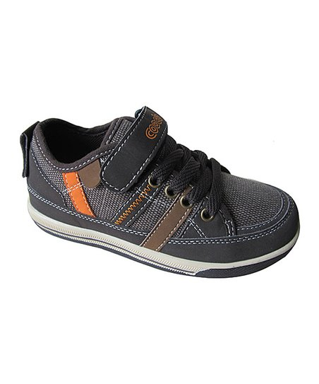 Brown & Orange Sneaker