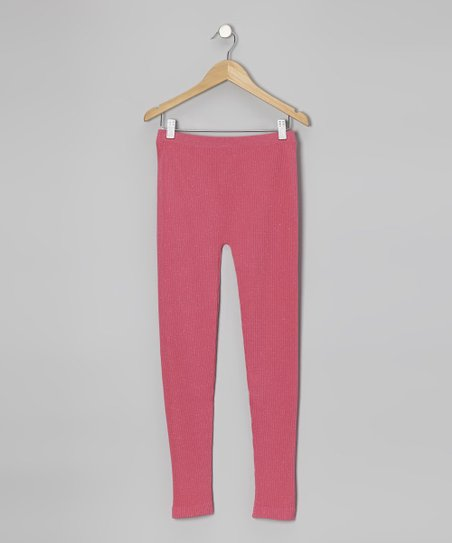 Hot Pink Leggings - Toddler