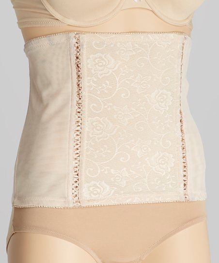 Nude Cutout Corset - Women & Plus