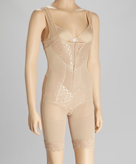 Nude Under-Bust Full Body Shaper - Women & Plus
