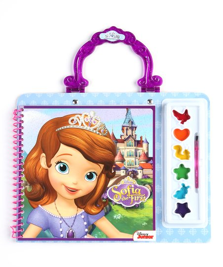Sofia the First Paint & Color Set