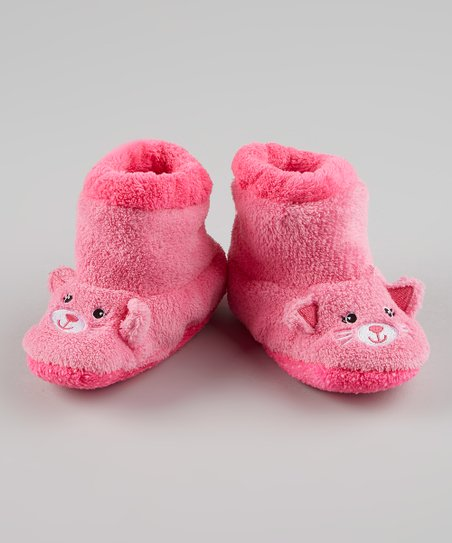 Pink Kitty Slipper