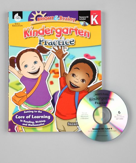 Bright &amp; Brainy: Kindergarten Practice Paperback