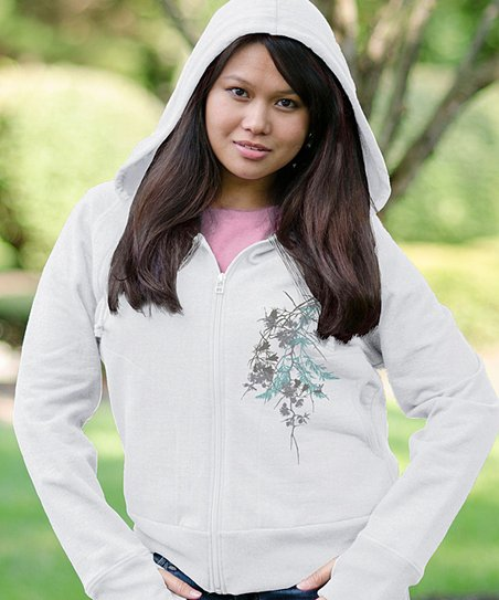 Cloud Nature Zip-Up Hoodie