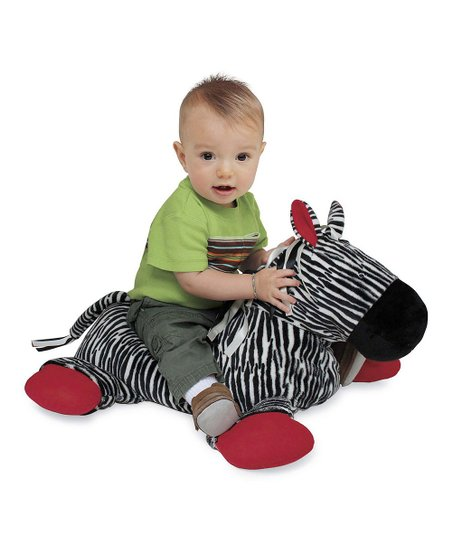 Large Zebra Tickly Toy Plush Toy