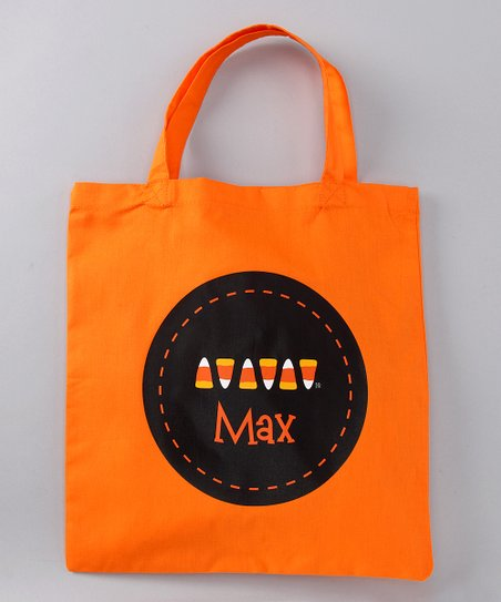 Lima Bean Candy Corn Dash Personalized Tote