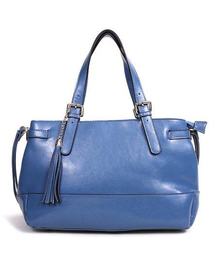 Blue Jeanice Tote