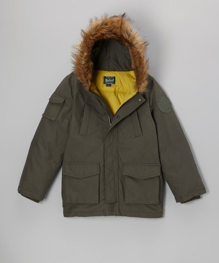 Hunter Green Parka - Infant, Toddler & Boys