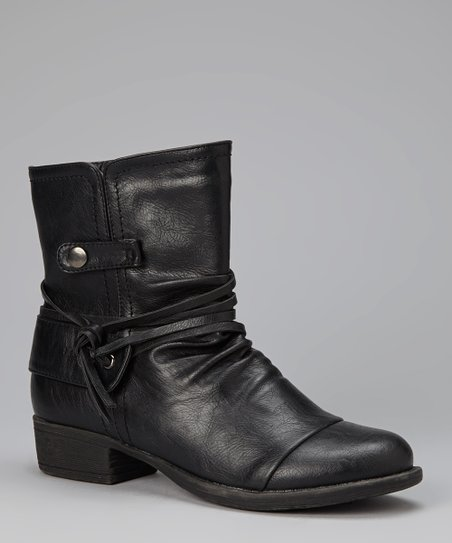 Black Low Apex Boot