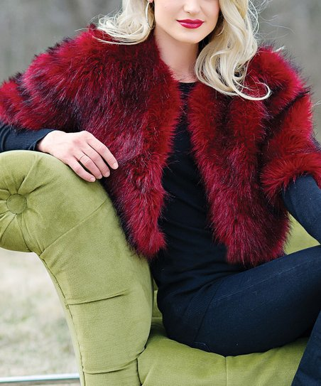 Ruby Faux Fur Foxy Jacket - Women