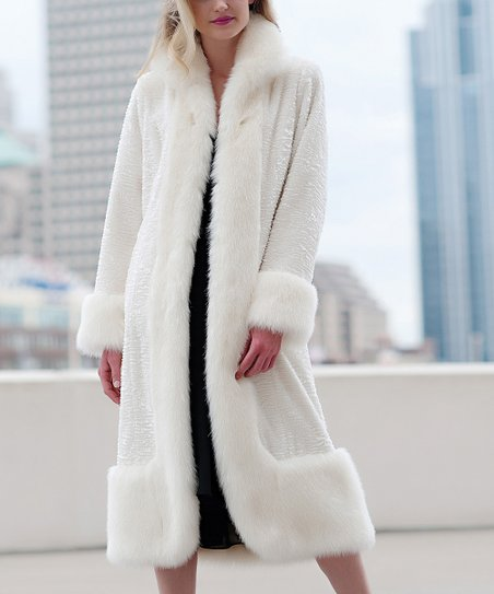 Ivory Montreal Long Jacket - Women