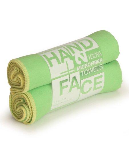 Lime & Lemon Hand/Face Towel - Set of Two
