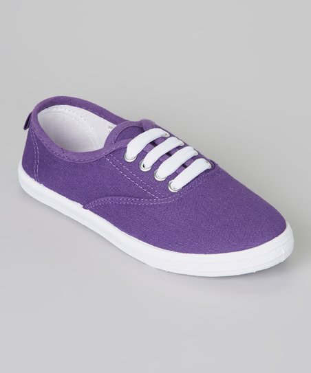 Purple & White Sneaker