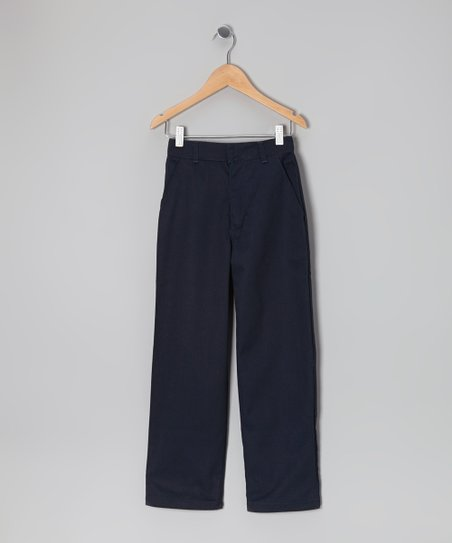 Navy Straight-Leg Pants - Boys