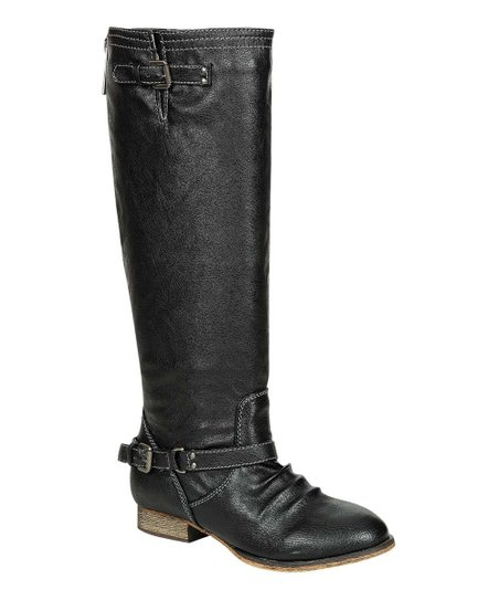 Black Outlaw Boot