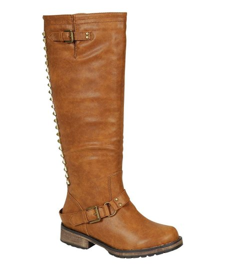 Tan Trooper-14 Stud Boot