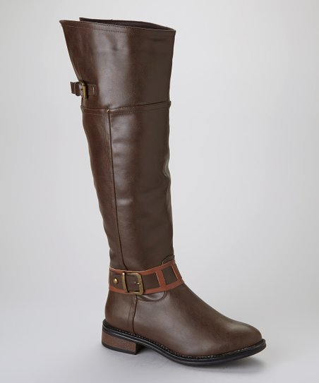 Brown Moto 2 Boot