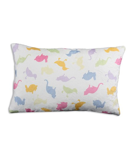 Chooty & Co. Tossed Animals Bolster Pillow