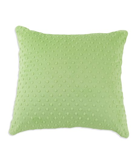 Chooty & Co. Sage Green Polka Dot Pillow