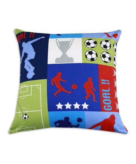 Chooty & Co. Sports Patchwork Pillow