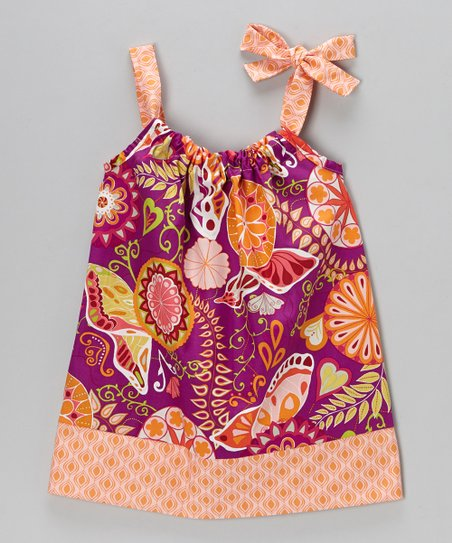 Ruby Floral Swing Dress - Infant, Toddler & Girls