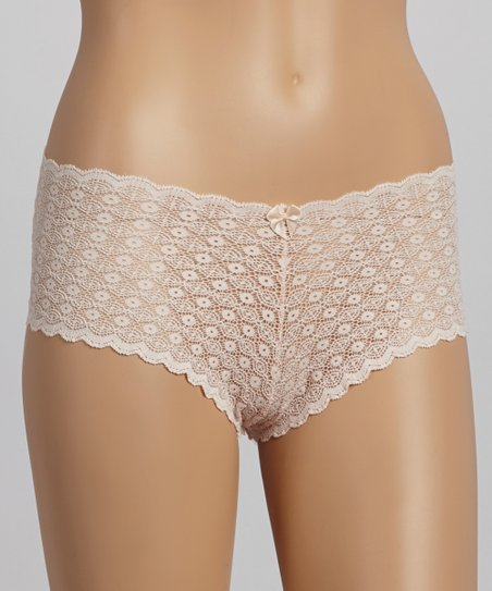 Salmon Copacabana Lace Boyshorts - Women